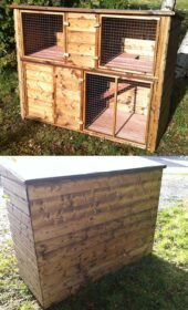 5ft-double-rabbit-hutch-brown